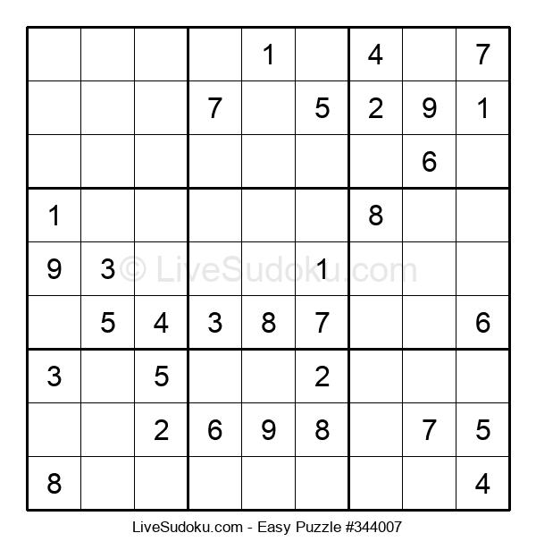 Beginners Puzzle #344007
