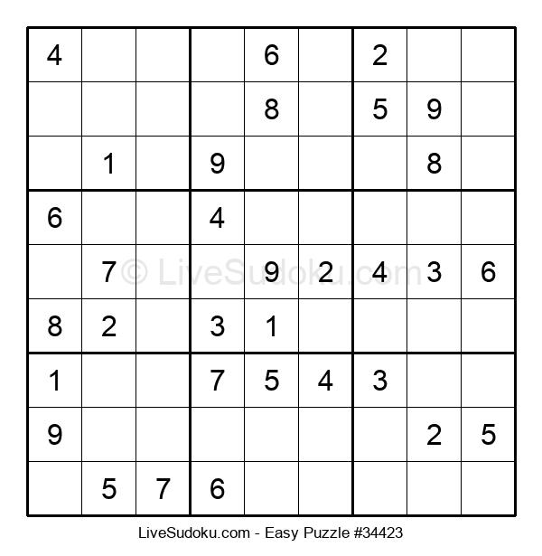 Beginners Puzzle #34423