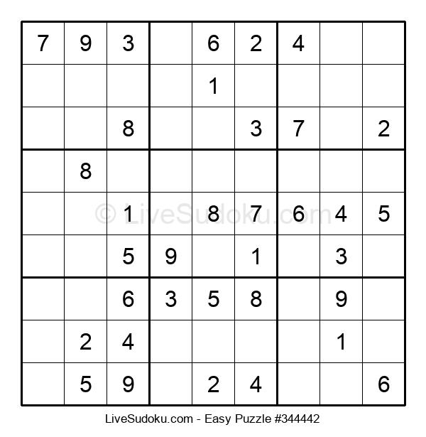 Beginners Puzzle #344442