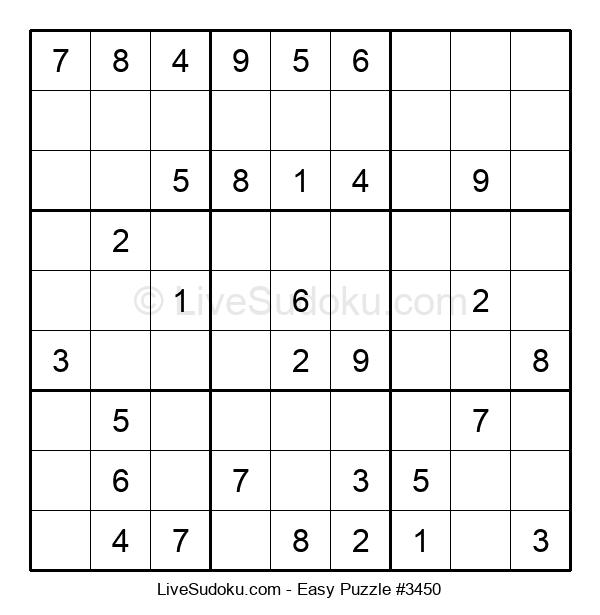 Beginners Puzzle #3450