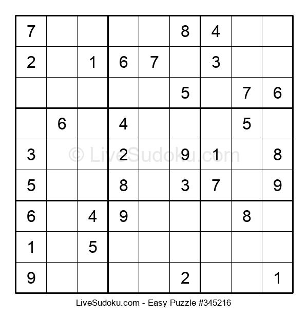 Beginners Puzzle #345216