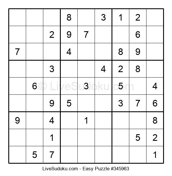 Beginners Puzzle #345963