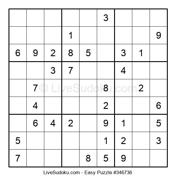 Beginners Puzzle #346736
