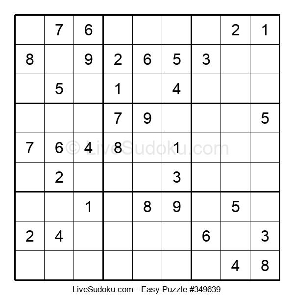 Beginners Puzzle #349639