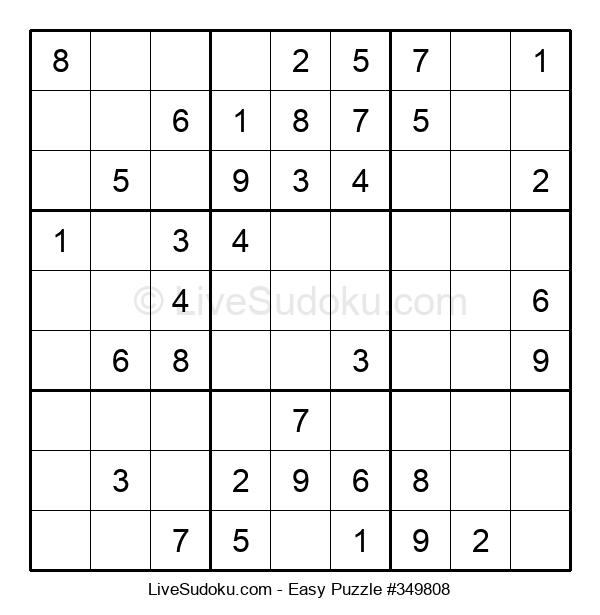 Beginners Puzzle #349808