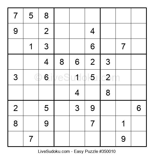Beginners Puzzle #350010