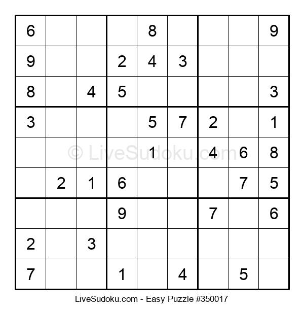 Beginners Puzzle #350017