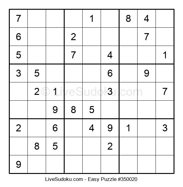 Beginners Puzzle #350020
