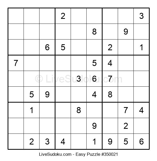 Beginners Puzzle #350021