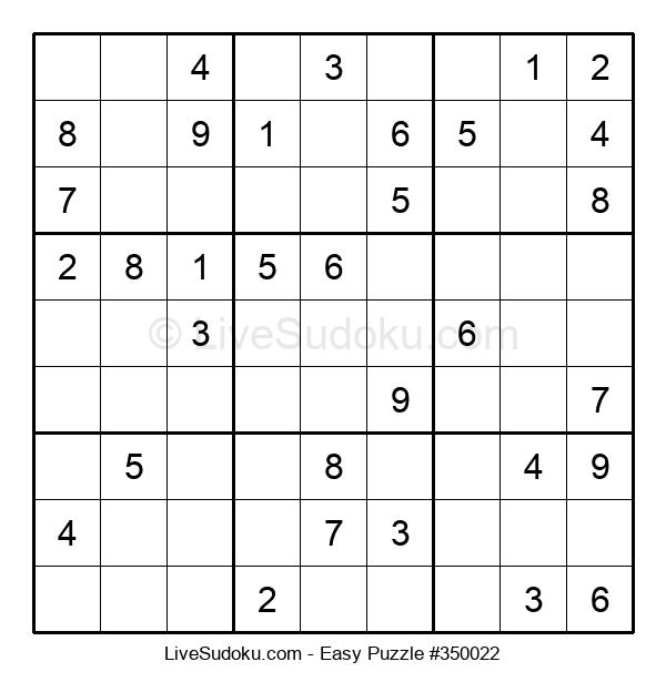 Beginners Puzzle #350022