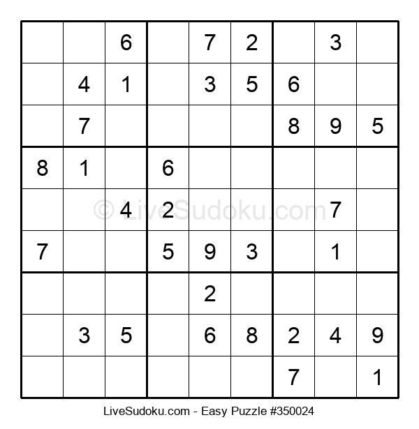 Beginners Puzzle #350024