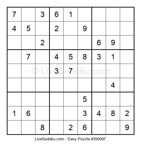 Beginners Puzzle #350097