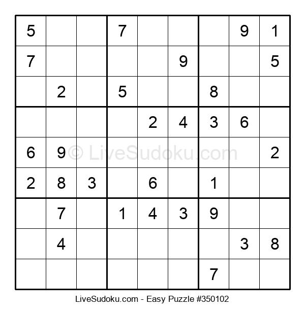 Beginners Puzzle #350102