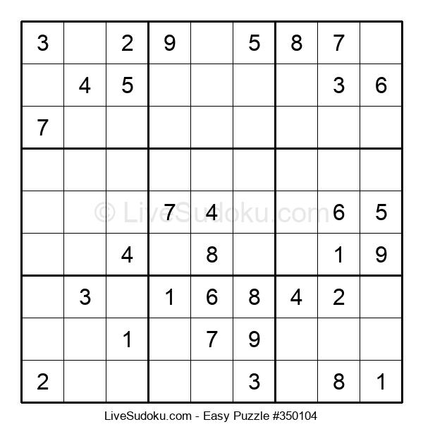 Beginners Puzzle #350104