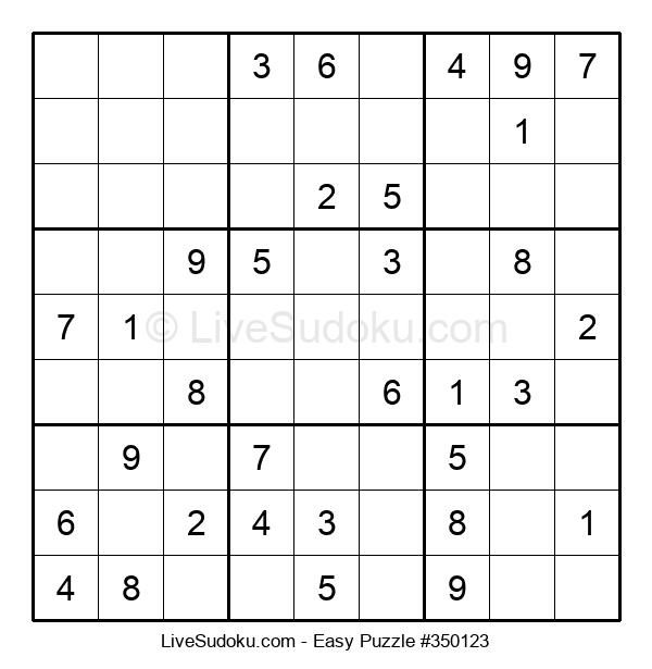 Beginners Puzzle #350123