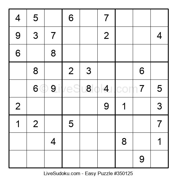 Beginners Puzzle #350125