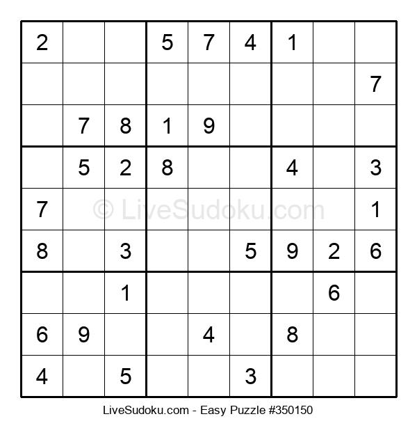 Beginners Puzzle #350150