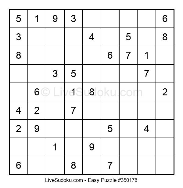 Beginners Puzzle #350178