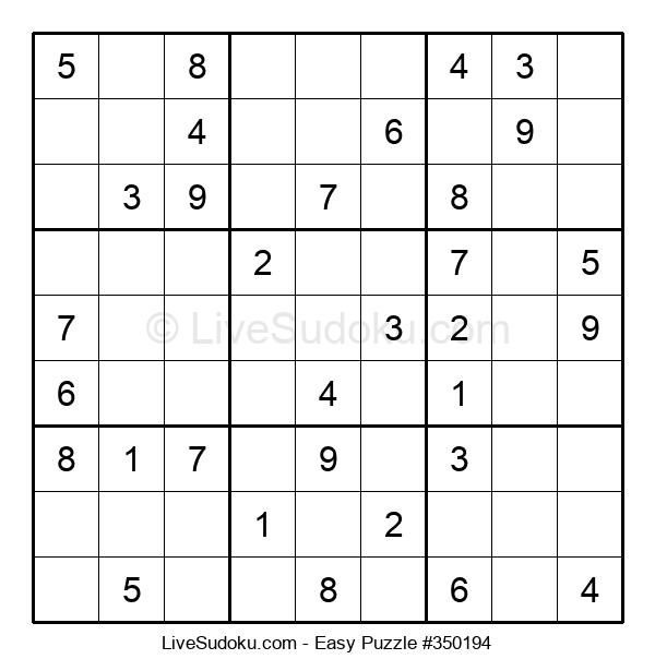 Beginners Puzzle #350194