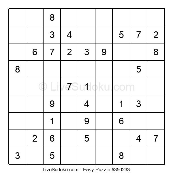 Beginners Puzzle #350233
