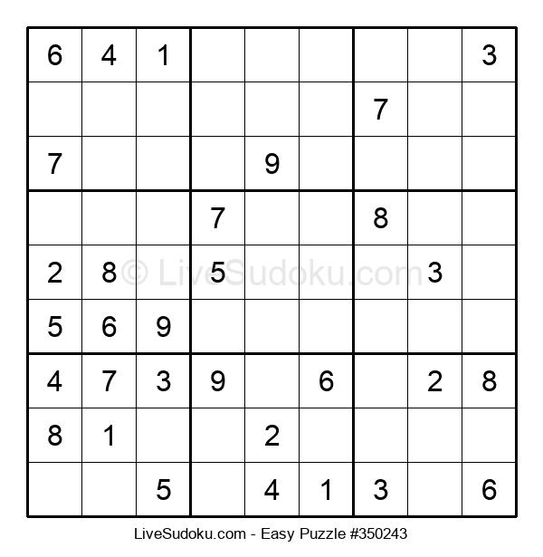 Beginners Puzzle #350243