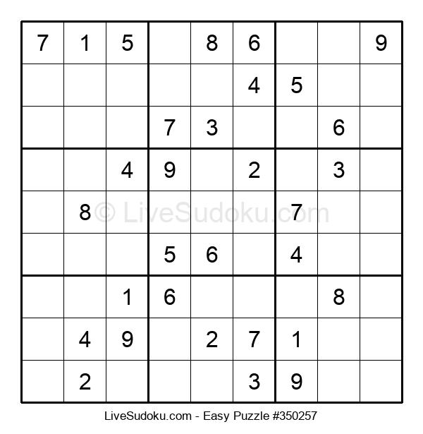 Beginners Puzzle #350257