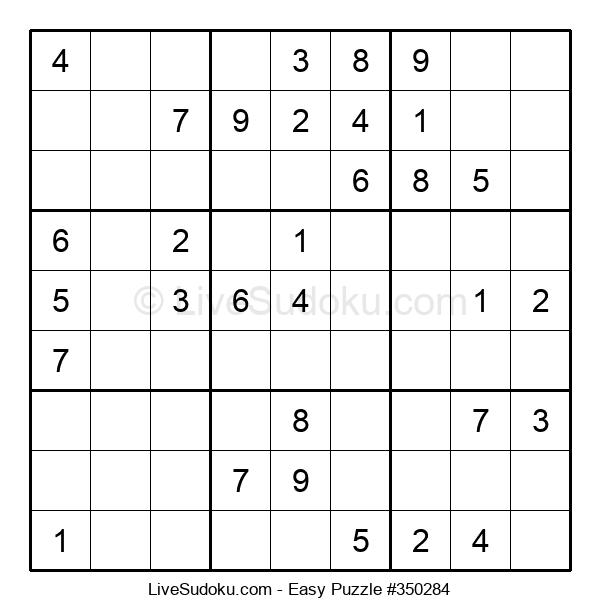 Beginners Puzzle #350284