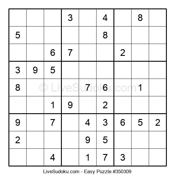 Beginners Puzzle #350309