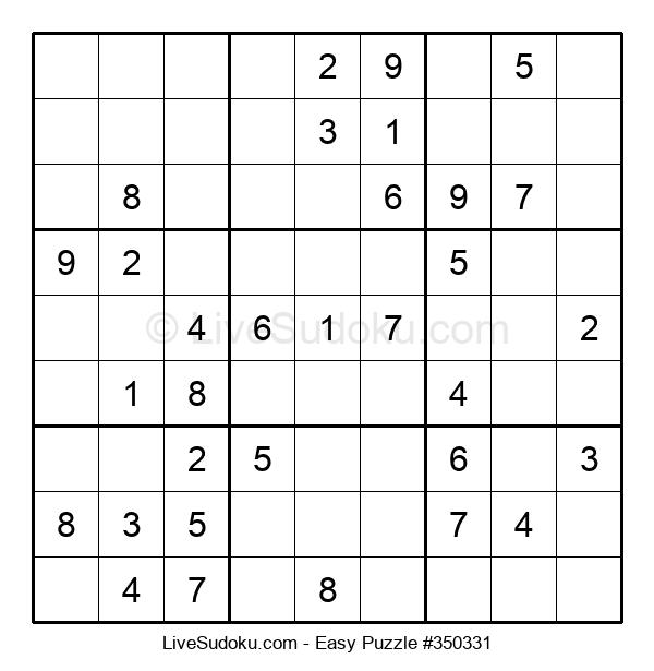 Beginners Puzzle #350331