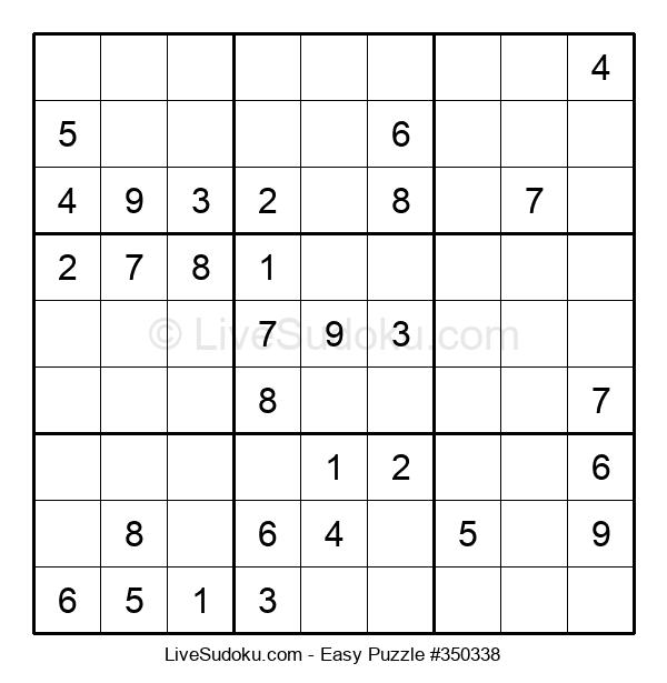 Beginners Puzzle #350338