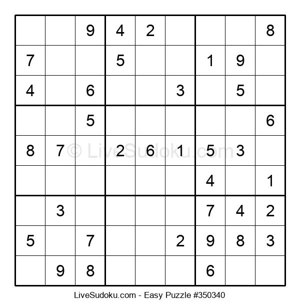 Beginners Puzzle #350340