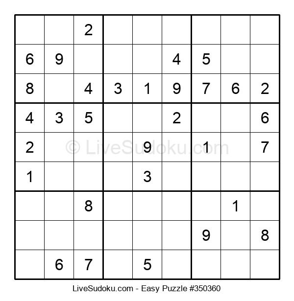 Beginners Puzzle #350360