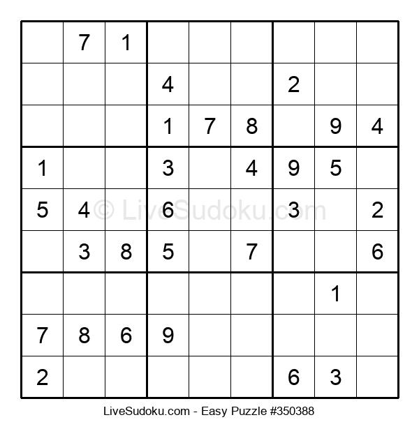Beginners Puzzle #350388