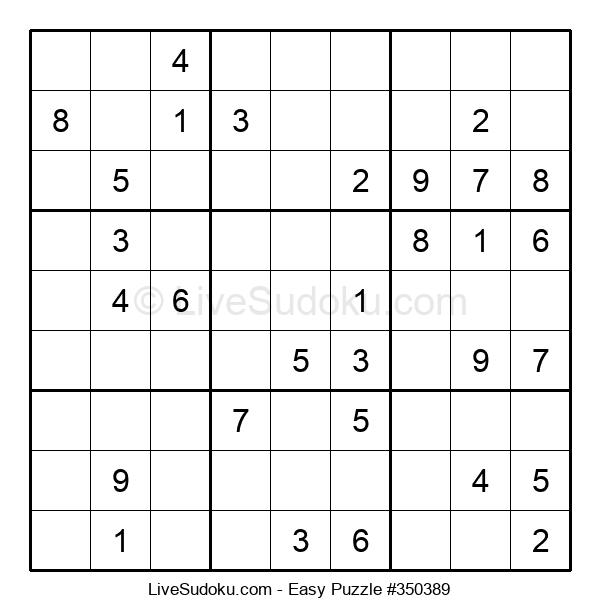 Beginners Puzzle #350389