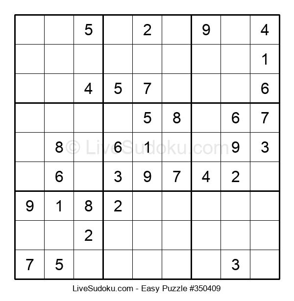 Beginners Puzzle #350409