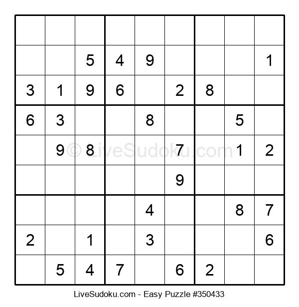 Beginners Puzzle #350433