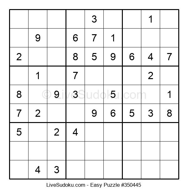 Beginners Puzzle #350445