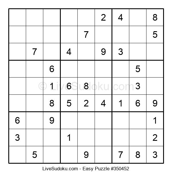 Beginners Puzzle #350452