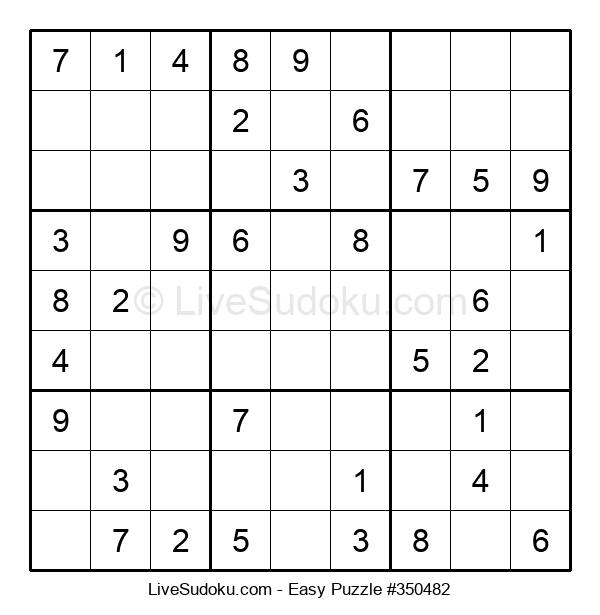 Beginners Puzzle #350482