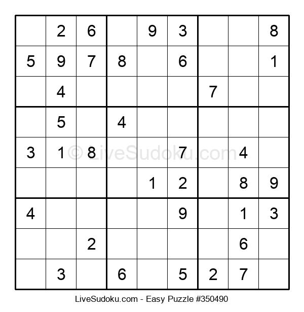 Beginners Puzzle #350490