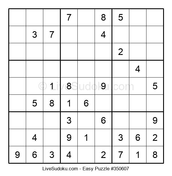 Beginners Puzzle #350607