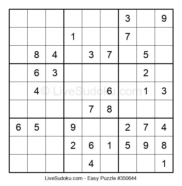 Beginners Puzzle #350644
