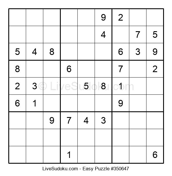 Beginners Puzzle #350647