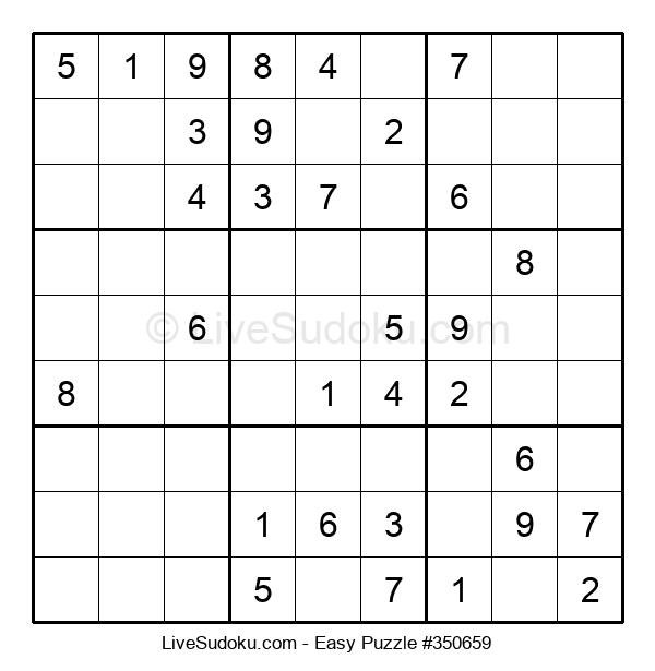 Beginners Puzzle #350659