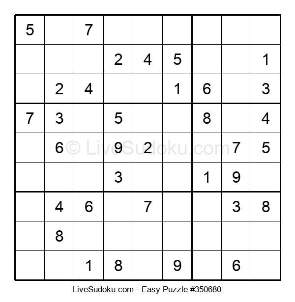 Beginners Puzzle #350680