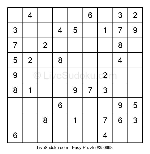 Beginners Puzzle #350698