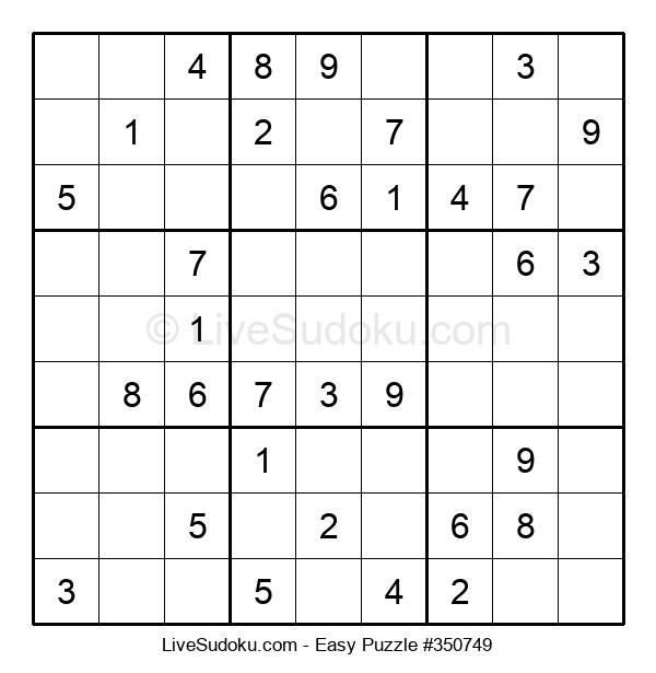 Beginners Puzzle #350749