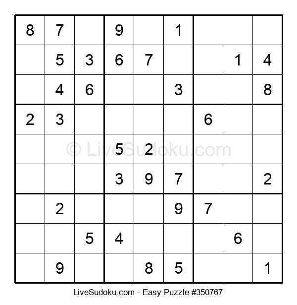 Beginners Puzzle #350767