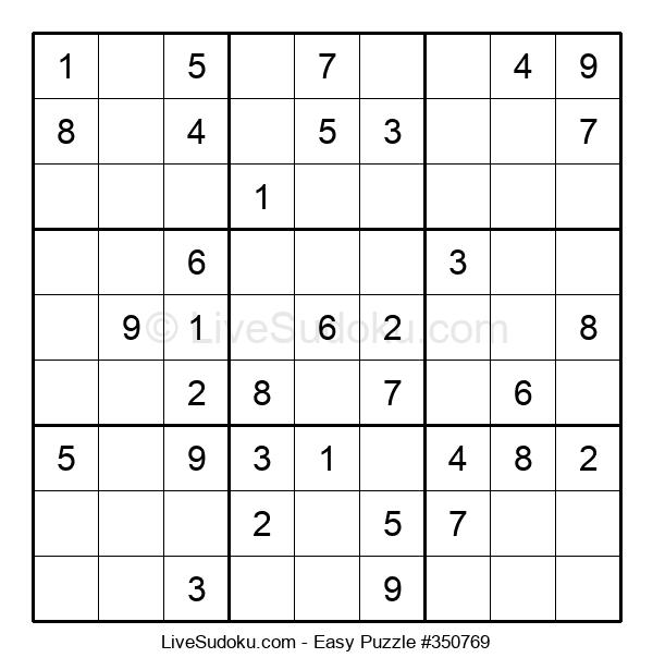 Beginners Puzzle #350769