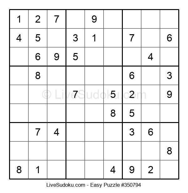 Beginners Puzzle #350794